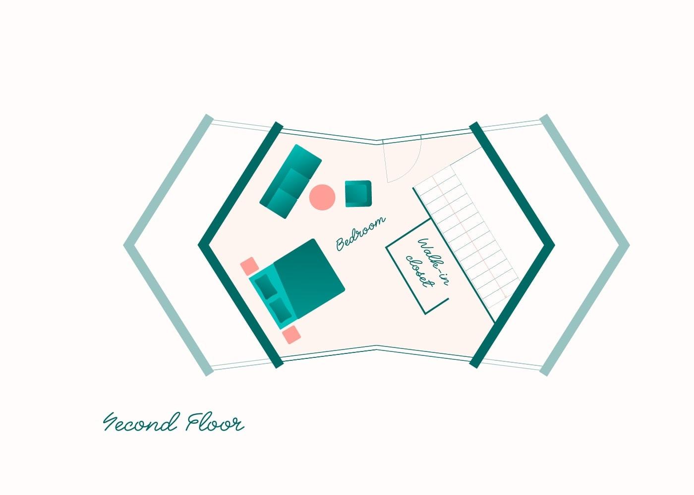 Floorplan Chalet Classic 2