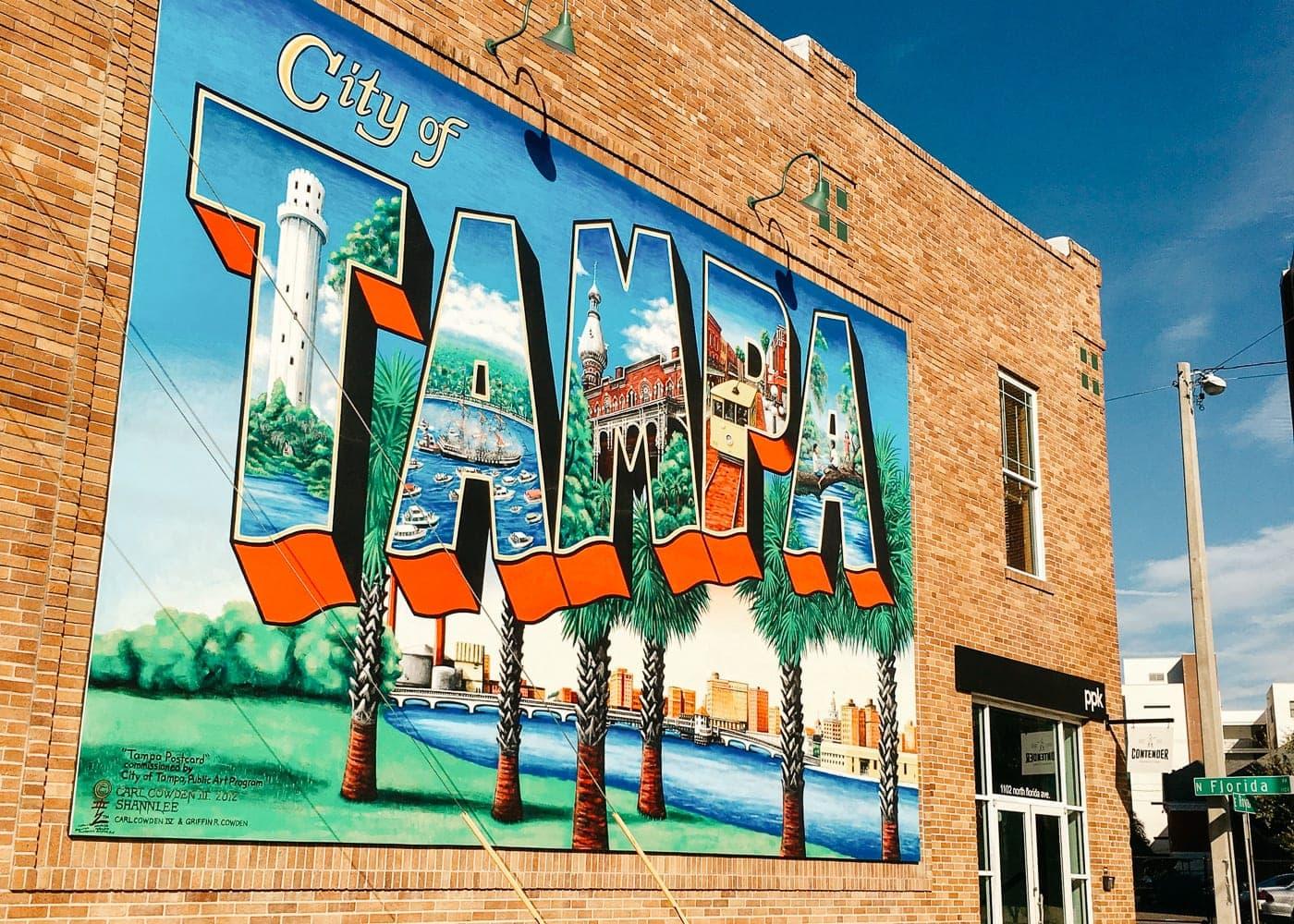 Mural in Tampa