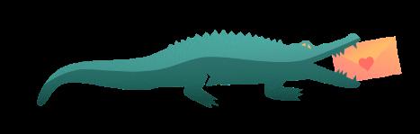 Aligartor illustration