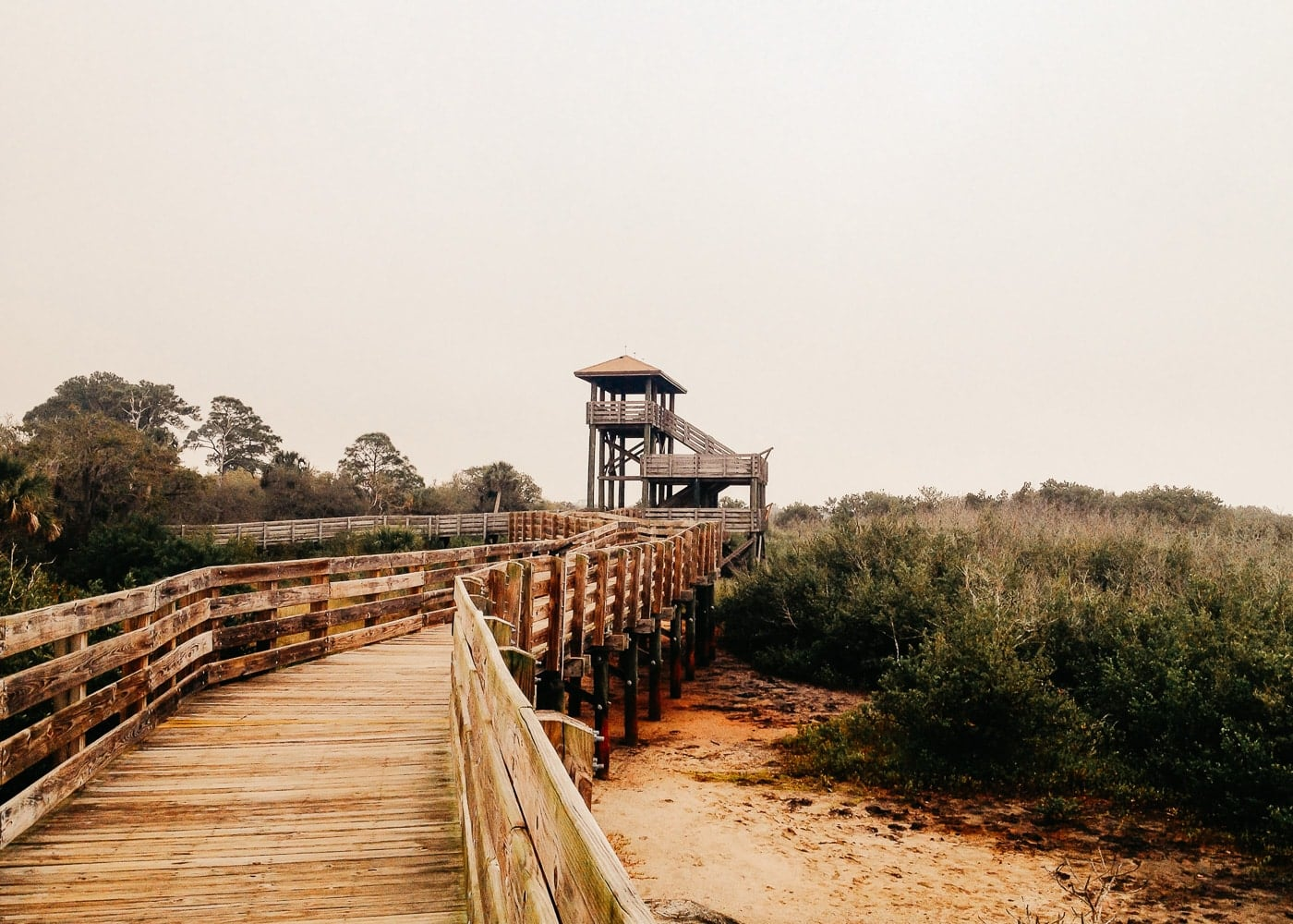 Fitness walks in Pinellas County Trail to Tower